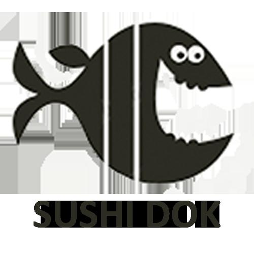 Суши док логотип