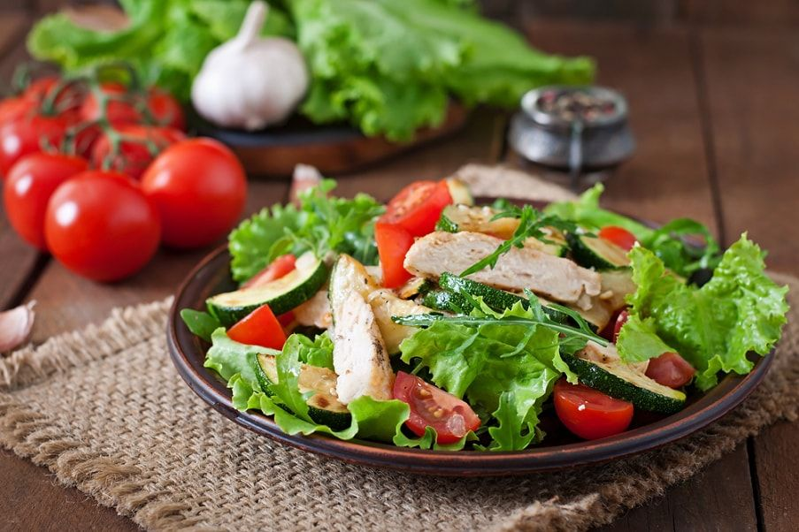 Доставка салатов
