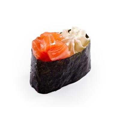 Суши сырные с лососем